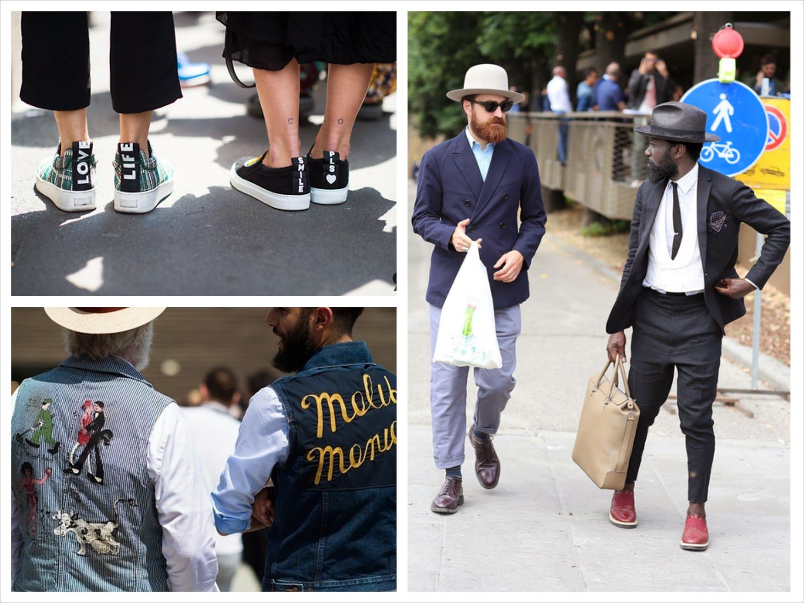 God Save the Queen and all: Street Style: Pitti Uomo rebosa estilo #streetstyle #pittiuomo