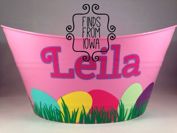 Hey, I found this really awesome Etsy listing at https://www.etsy.com/listing/182560397/personalized-custom-easter-basket-with