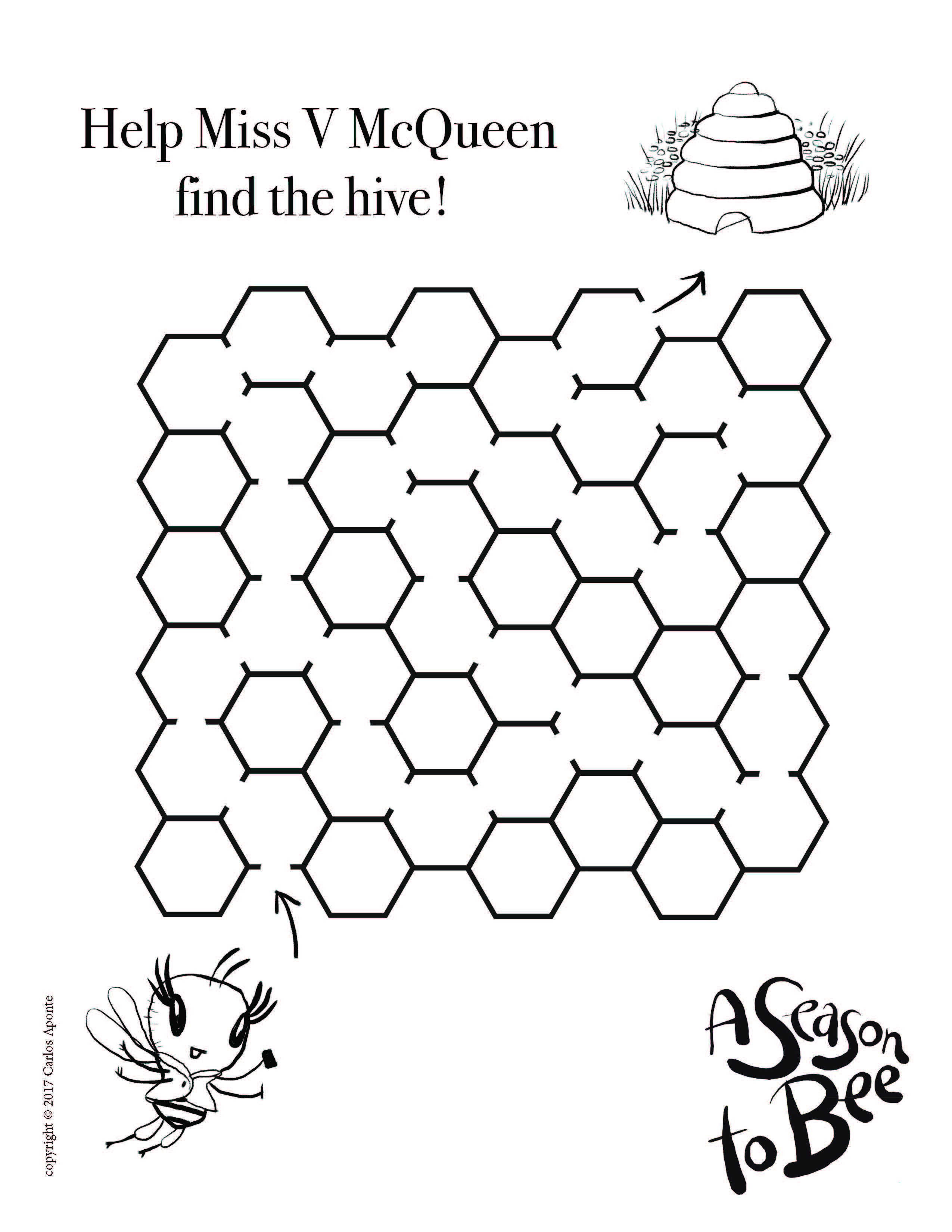 Help Miss V Mcqueen Find The Hive Learn How To Draw A Fashionable Bug Kindergarten Worksheets Kindergarten Math Worksheets Kindergarten Addition Worksheets [ 3300 x 2550 Pixel ]