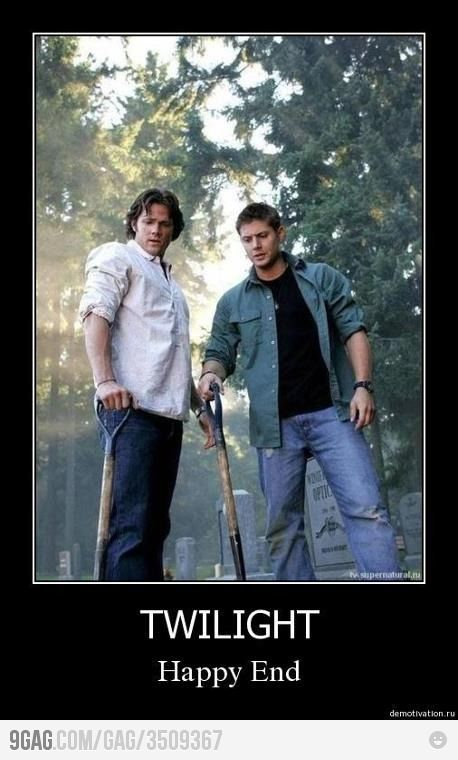 In conjunction with my Supernatural dvd marathon session on right now