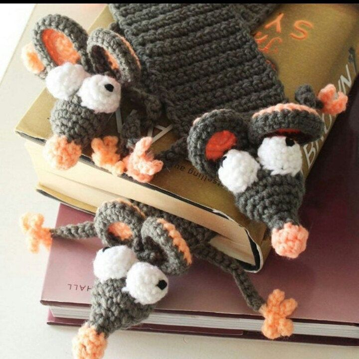 A bookworm that comes in handy when you need a bookmark! New listing, new creative adventures!