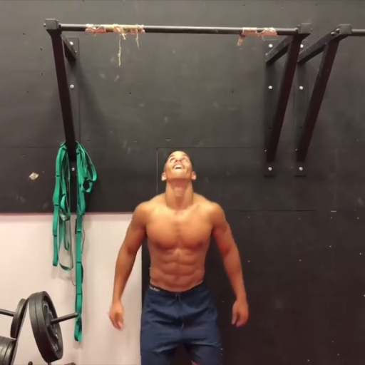 Pull Ups With Merkelfitness Gymshark Train Gym Workout Exercise Gym Workout Videos Abs Workout Physical Fitness