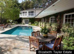 Elizabeth Taylor's 1960s California Ranch - her home for 30 years until her death in 2011.  Formerly the home of Nancy Sinatra, Sr.