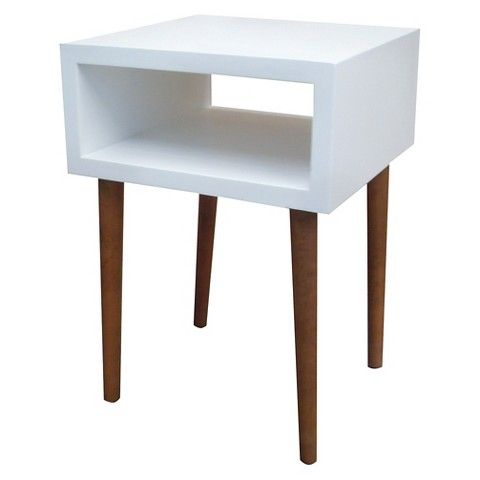 Room Essentials™ Mid Century Modern Accent Table - Room Essentials™ Mid  Century Modern Accent - Bedside Tables Target Reloc Homes
