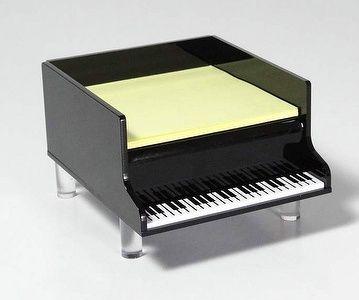 Piano Keyboard Memo Pad Holder Music Furniture Music Decor