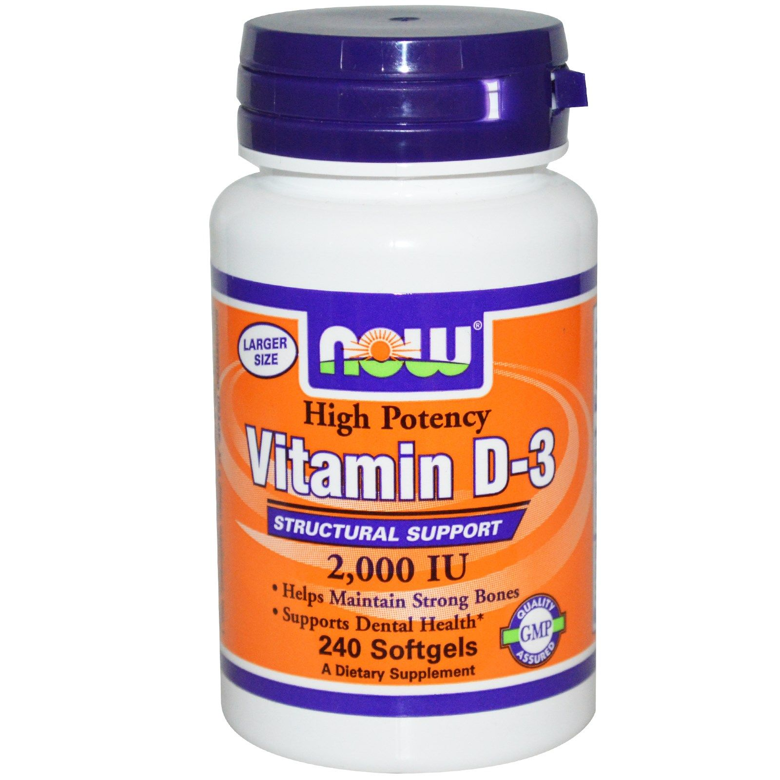 Now Foods Vitamin D 3 High Potency 50 Mcg 2 000 Iu 240 Softgels Now Vitamins Vitamins Now Foods