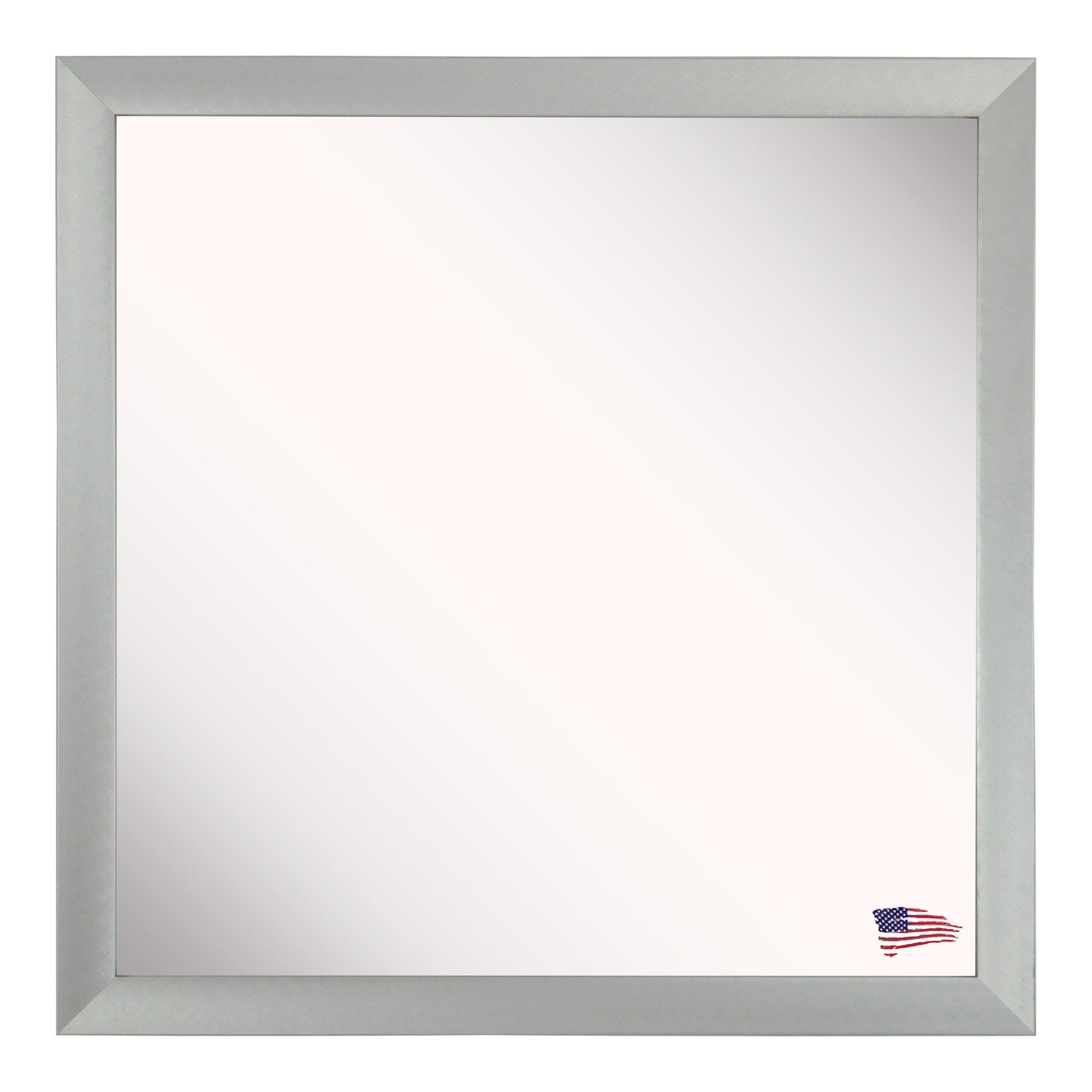 Square Framed Wall Mirror