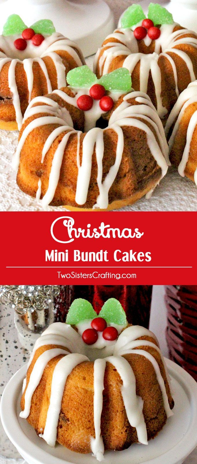 How To Package Mini Bundt Cakes For Gifts