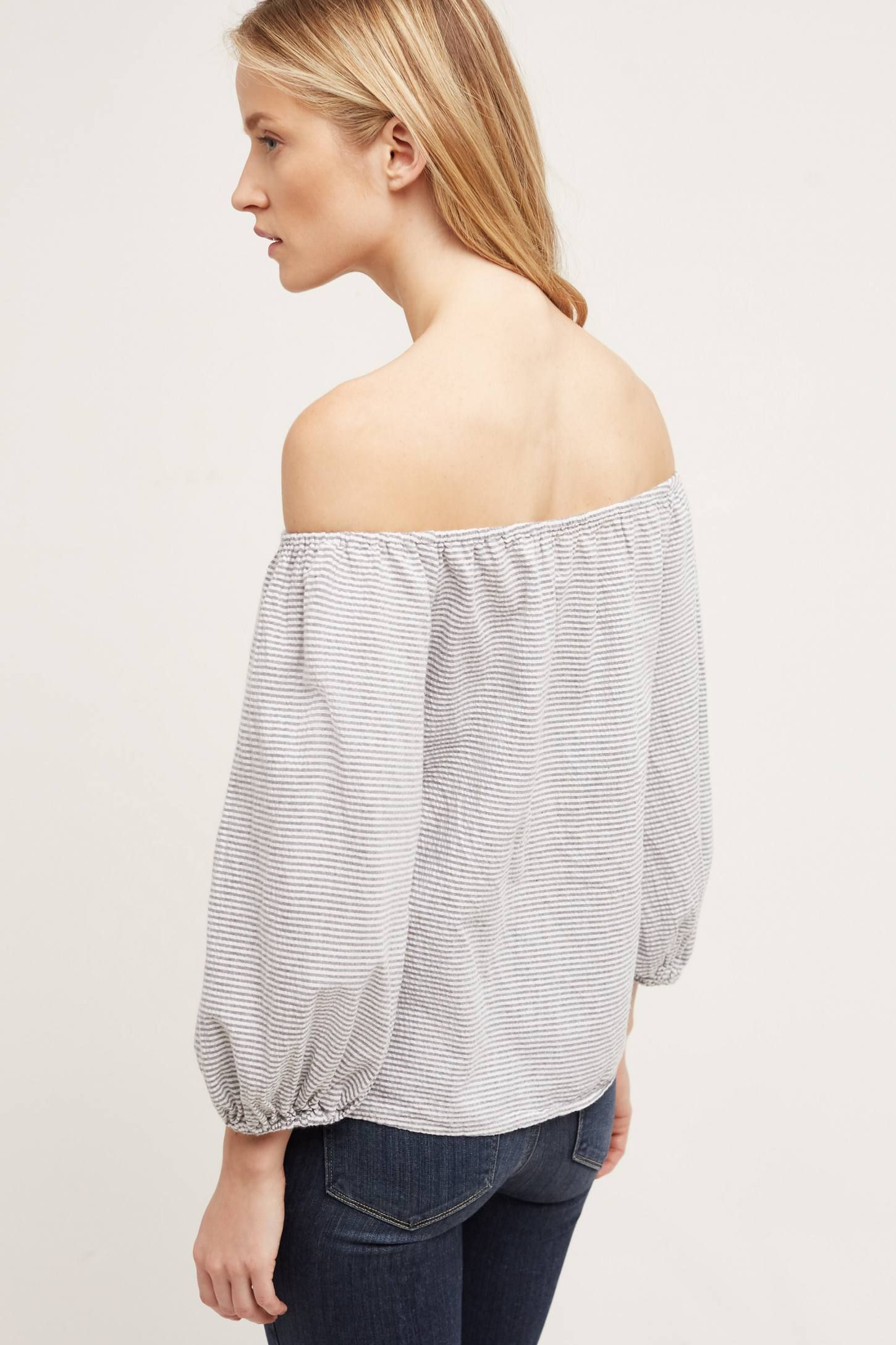 Bretta Off-The-Shoulder Top - anthropologie.com