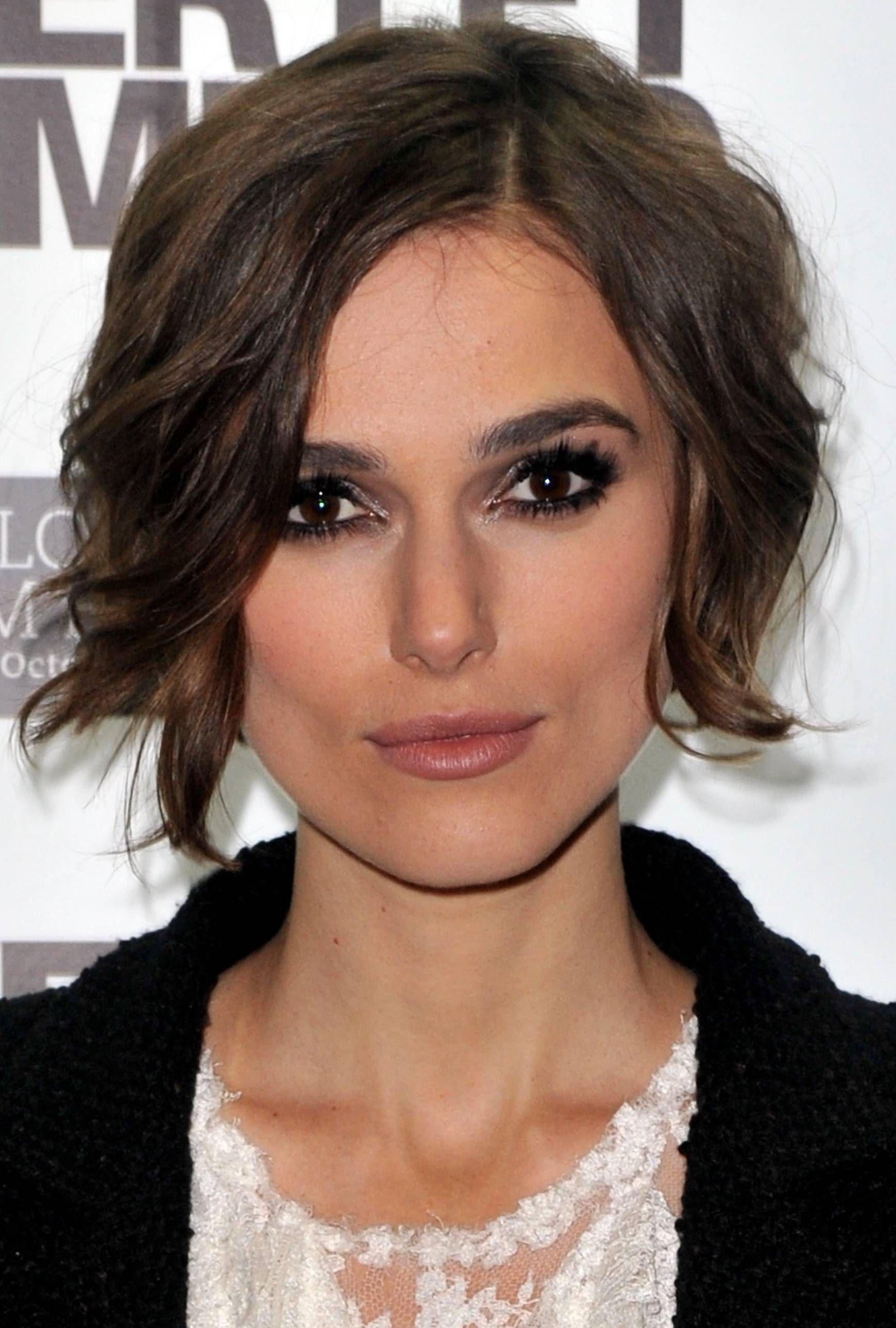 Dark Brown Crop Hair Styles For Square Jaws Pinterest Dark