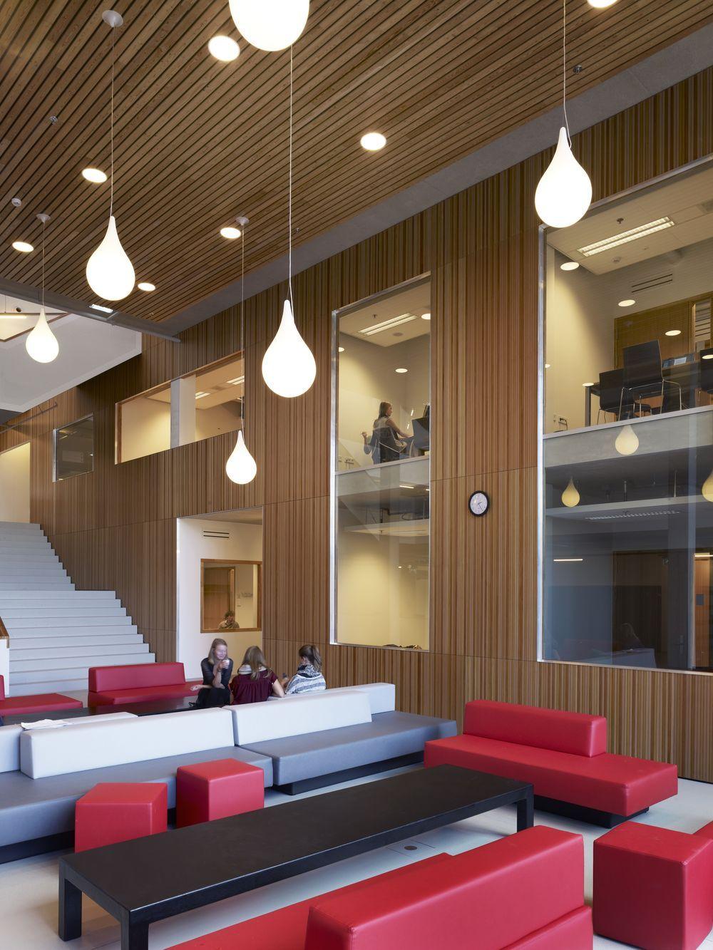 Amsterdam university college designed by mecanoo