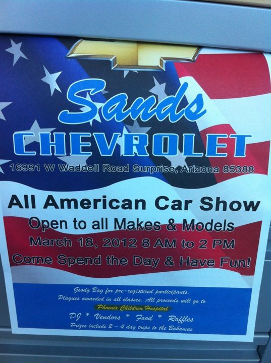 Sands Chevrolet Surprise Chevyup Chevrolet Chevrolet