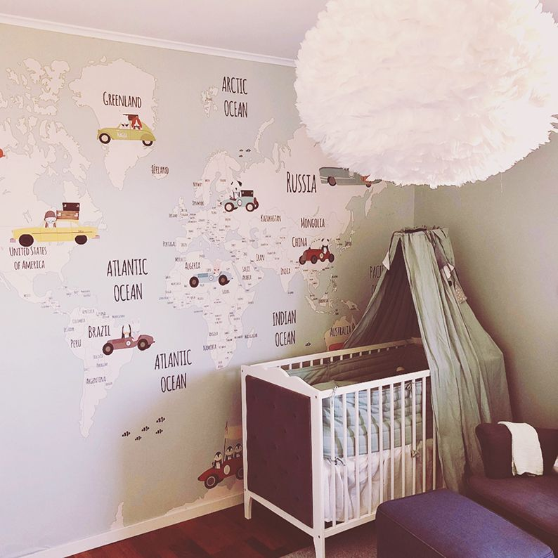 We Just Need To Know The Exact Measure Of Your Wall Little Hands Wallpaper Boy S Room Personalized Wallpaper