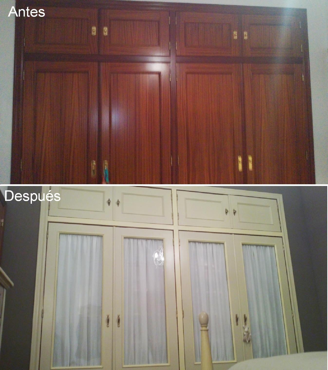 Wardrobe Revamp Restauraci N Pinterest Armario Reciclado Y  # Muebles Reformados Antes Y Despues