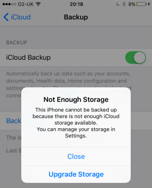 How to delete all photos from iphone 6 storage is full