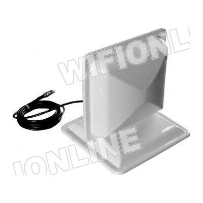 Wifi-Online - Antena GSM - 3G Direccional 14dBi + 2m cable y conector FME hembra :: Wifi-Online Shop    Antena GSM - 3G Direccional 14dBi. Incluye cable y conector FME.      Válido para las frecuencias GMS estándar: 3G/1800/1900/2100MHz HSPA/UMTS