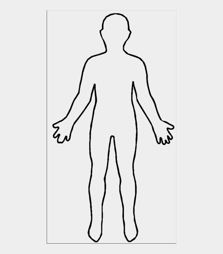 Body Outline Clipart Images Body Outline Person Outline Clip Art