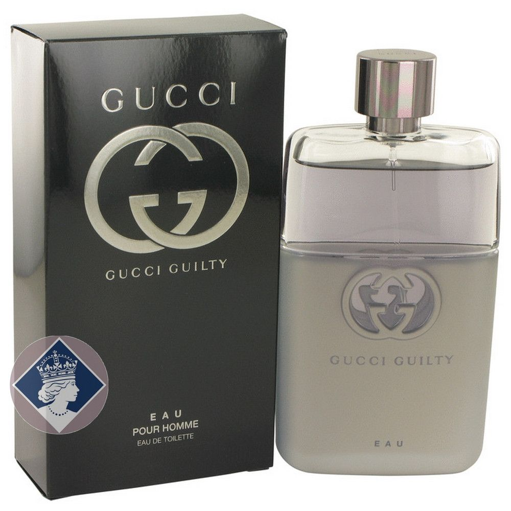 Gucci Guilty Eau Pour Homme 90ml/3.oz Eau De Toilette Spray EDT Cologne for Men