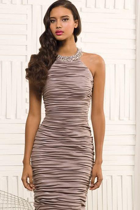 Chrishell stubbs black and white dress