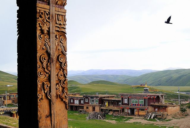 Travel Tibet Tibetan woodcarving an ancient tradition . by reurinkjan, via Flickr