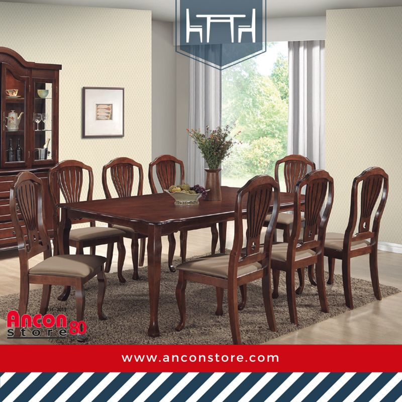 Comedores En #AnconStore contamos con los muebles que tu hogar