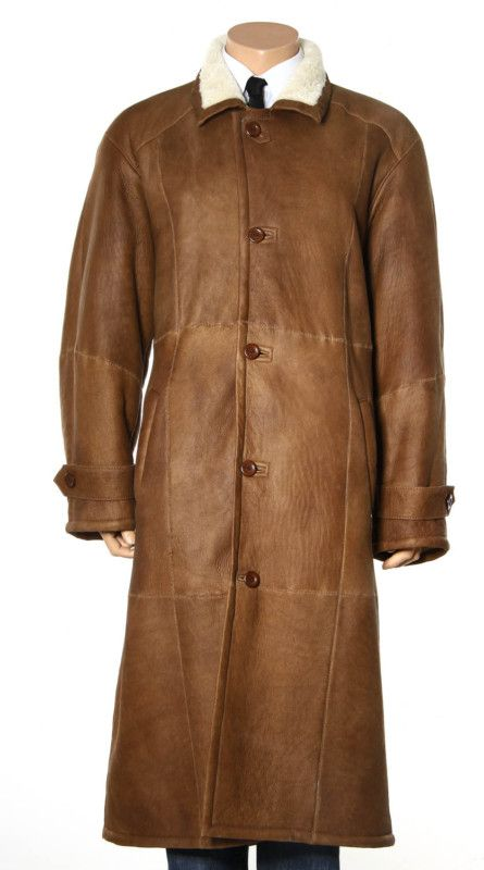 gucci shearling men coat | mens shearling sheepskin full length