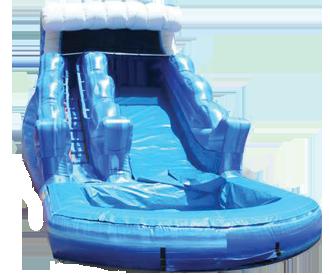 13 Blue Wave Waterslides W Pool Inflatable Water Slide Rentals Astro Jump Of Nw Atlanta Water Slides Water Slide Rentals Water Slides Backyard
