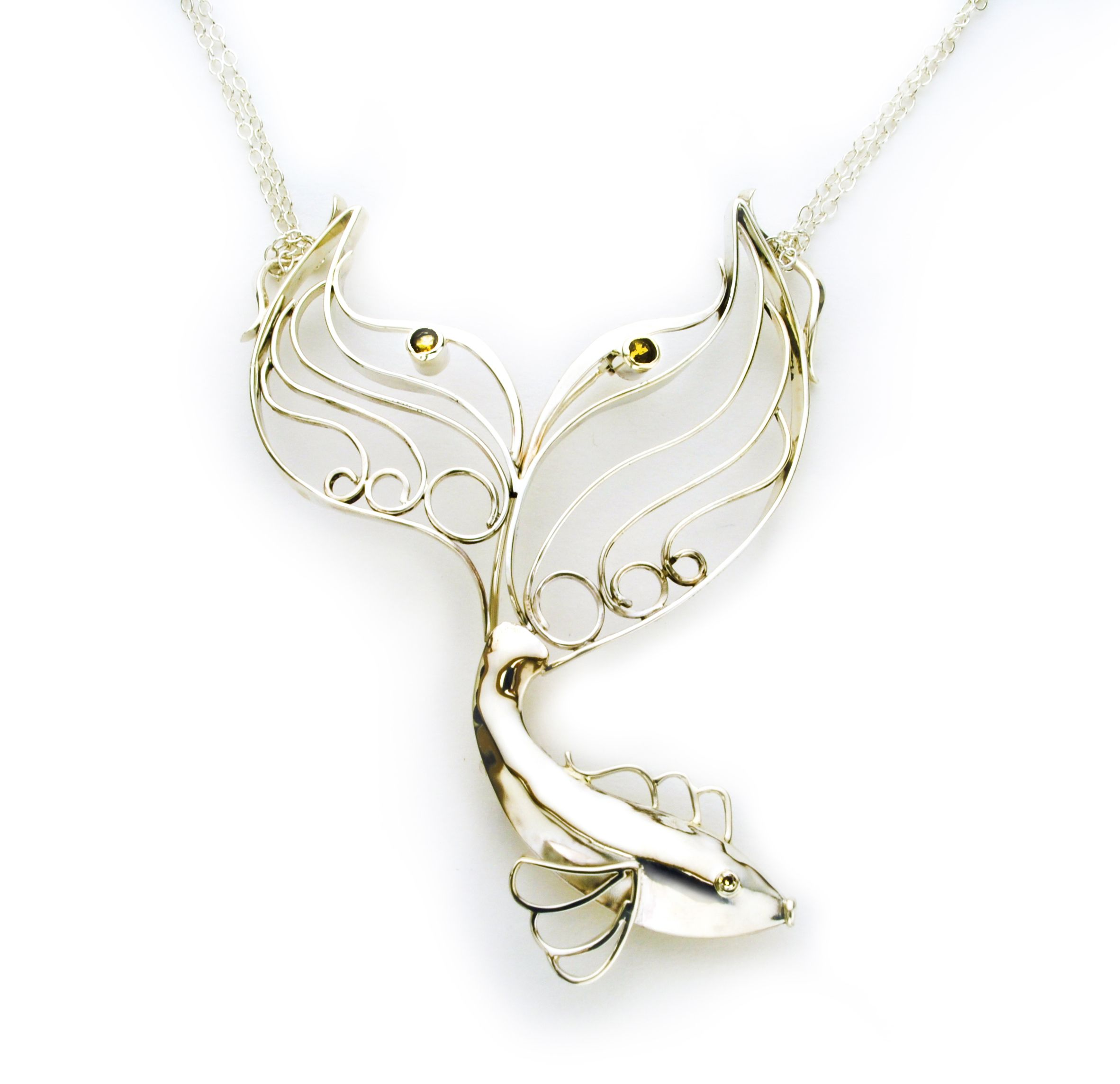 sterling pendant new classic mjj products made shop star silver designer zealand jewellery bridal fish