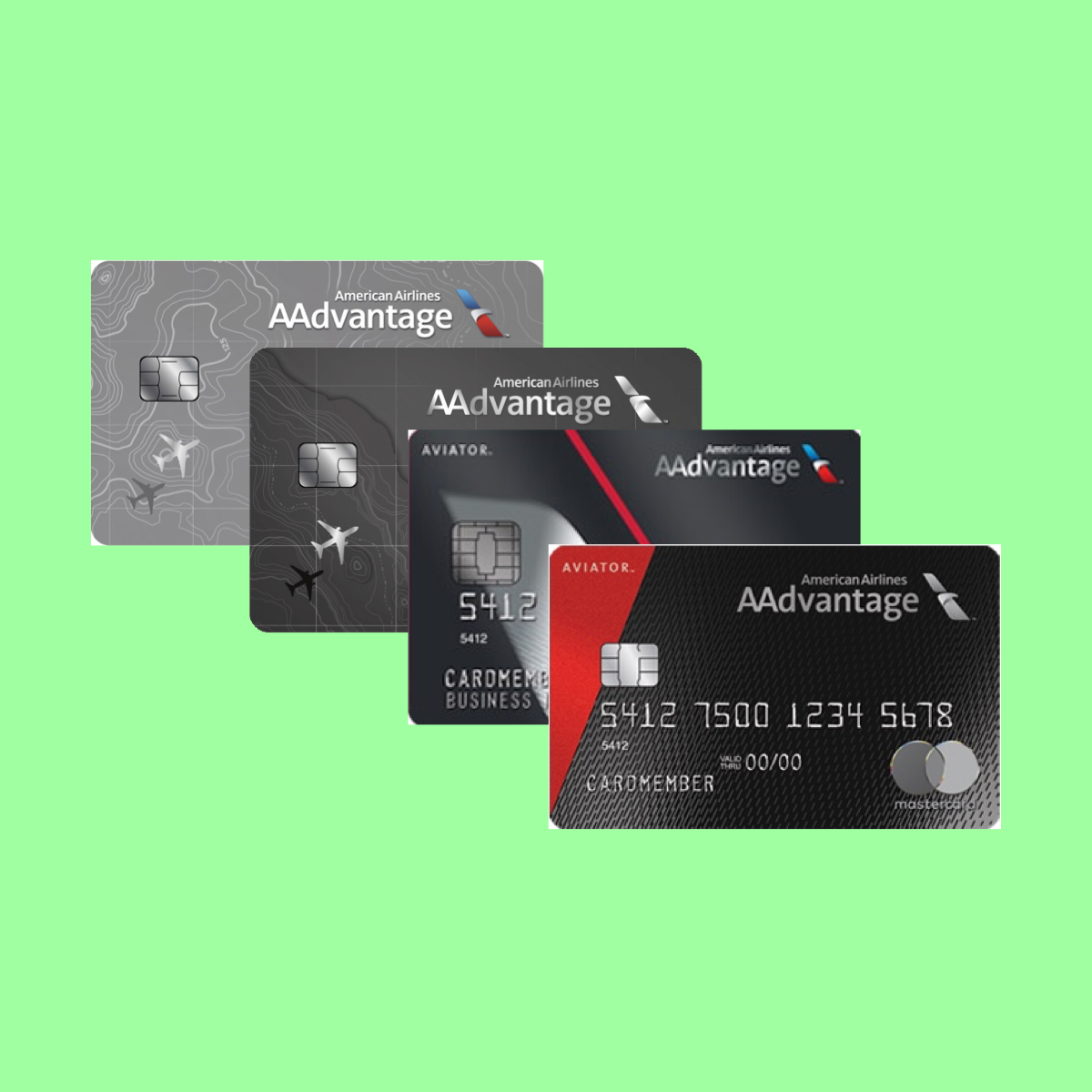 Compare AA Credit Cards Side-By-Side The Point Calculator
