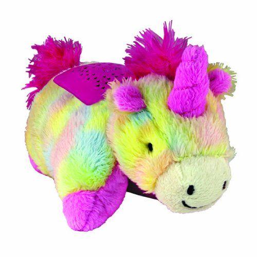Pillow Pets Dream Lites Mini Rainbow Unicorn Pillow Pets