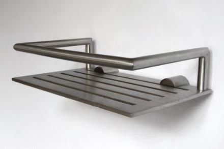 Frost Nova Stainless Steel Shower Shelf  Available In 2 Different Sizes And  2 Different Finishes