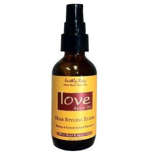 Hair Elixer | All Natural Argan OIl & Hemp Oil Hair Care Oil Product