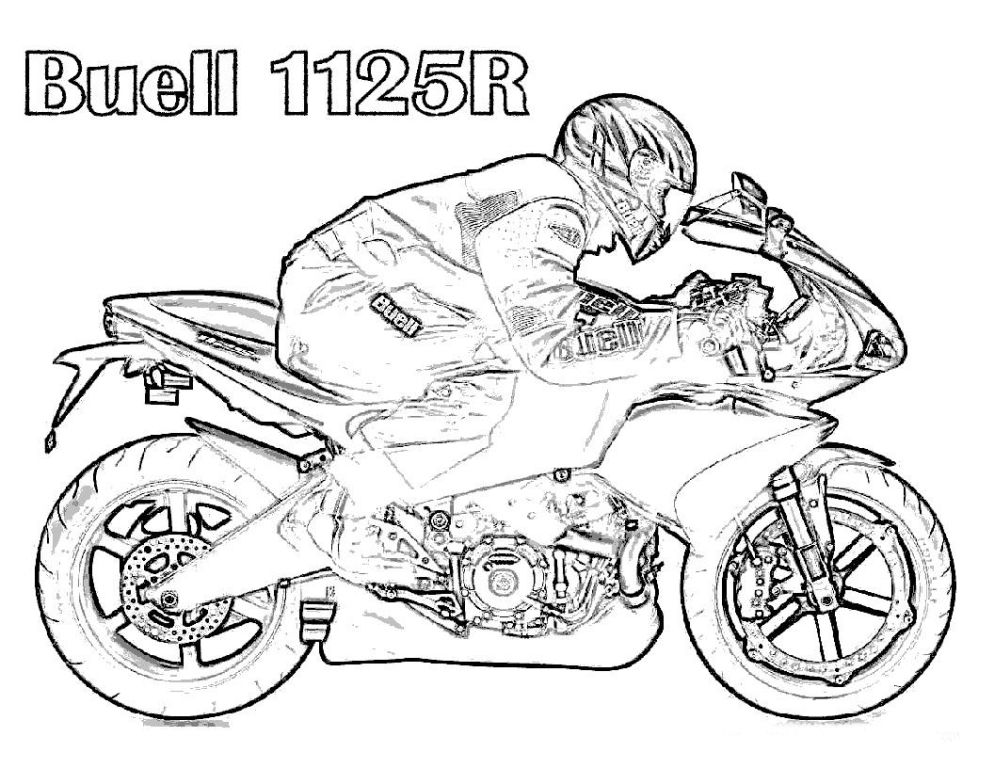 Free Dirt Bike Coloring Pages Printable : Amazing Coloring Page ...