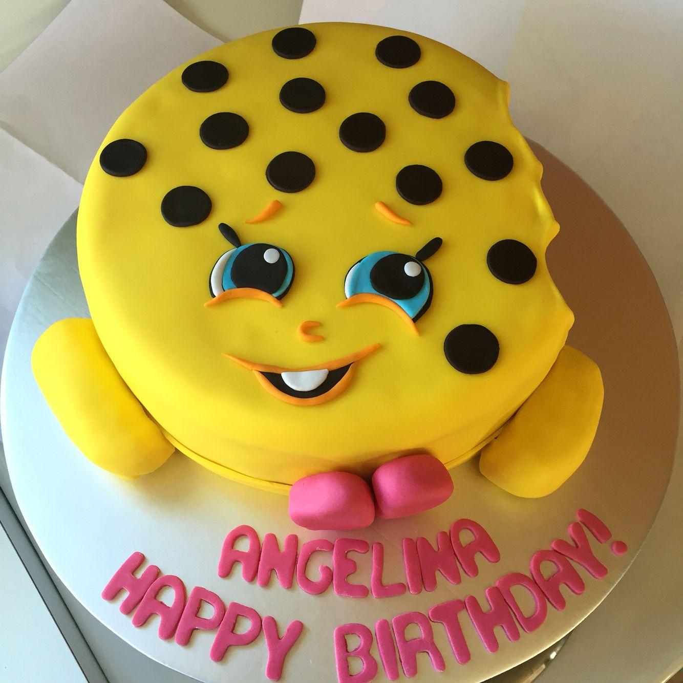 Kooky Cokkie Shopkins Moose Birthday Cake Birthday Cake Ideas