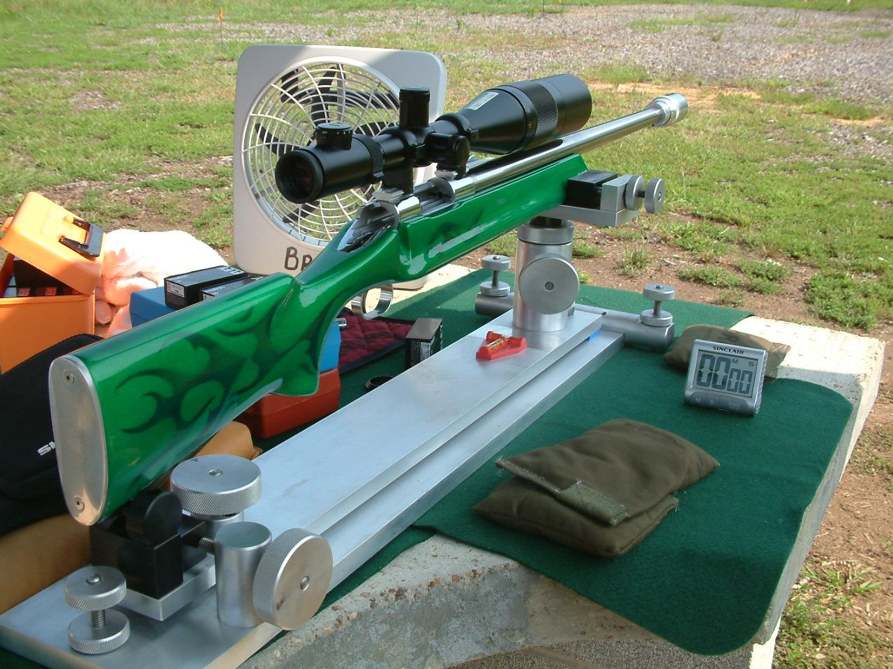 Benchrest Shooting Technique: Bench Rest And Very Important Things