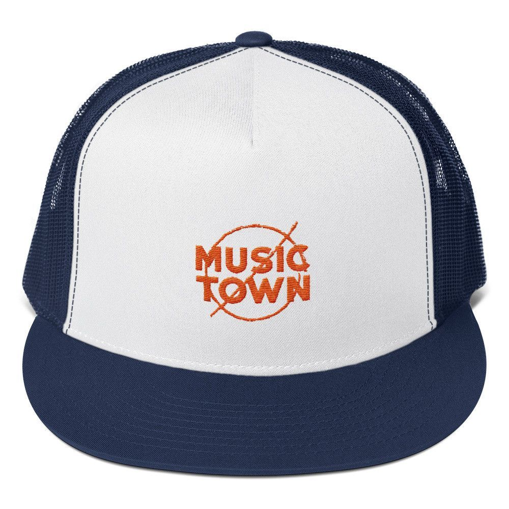 4d71c4ae9faa8 Empire Records - Down with Music Town - Trucker Cap