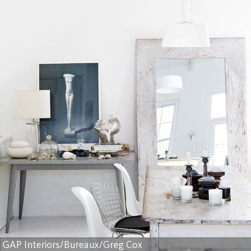 Esszimmer im Vintage-Look weißer Esstisch, vintage Möbel und - vintage esstisch ideen esszimmer mobel