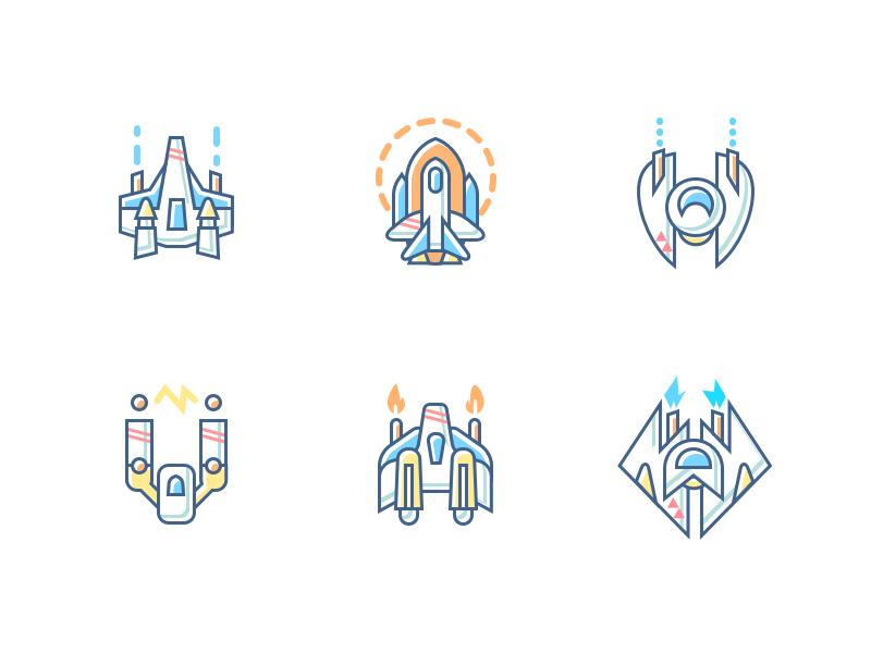 Travel Icons Train Spacecraft Time Machine Travel Icon Icon Spacecraft