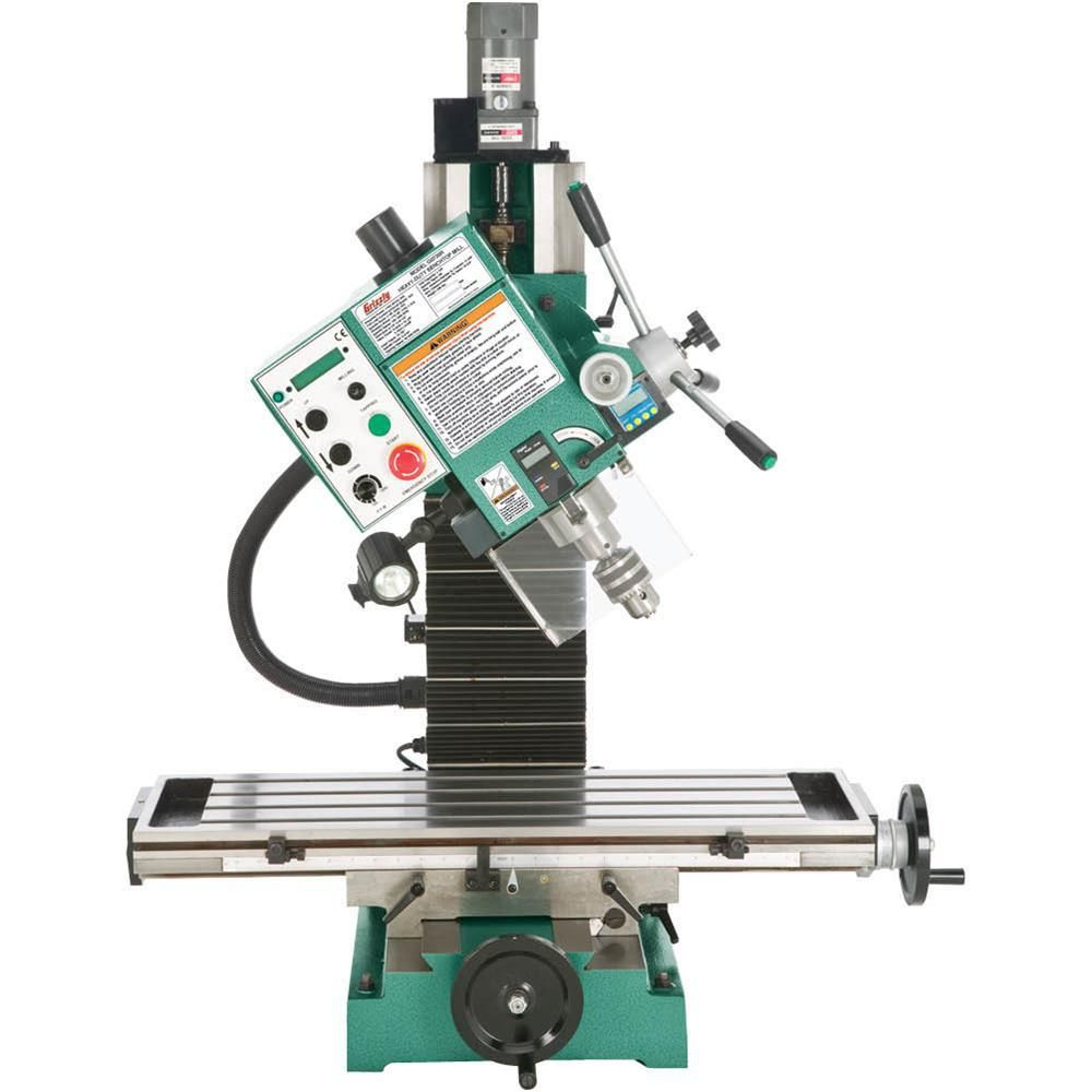 Grizzly industrial heavyduty benchtop milling machine