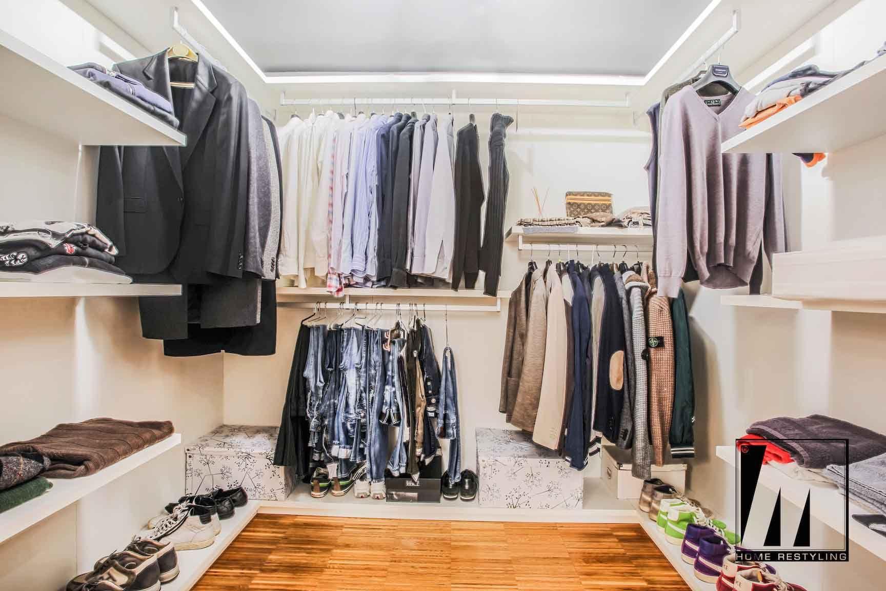 Progettazione Cabina Armadio : Ristrutturazioni by progetto scale cabina armadio clothing