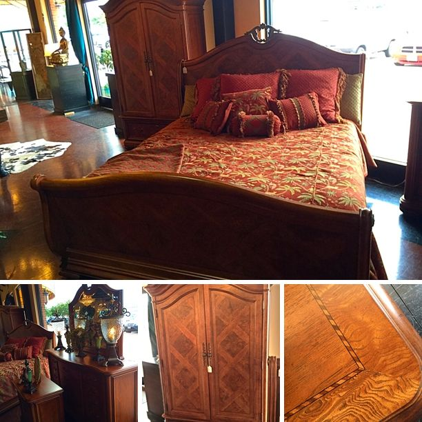 Beautiful Thomasville Bedroom Suit - British Gentry Line - Made in ...