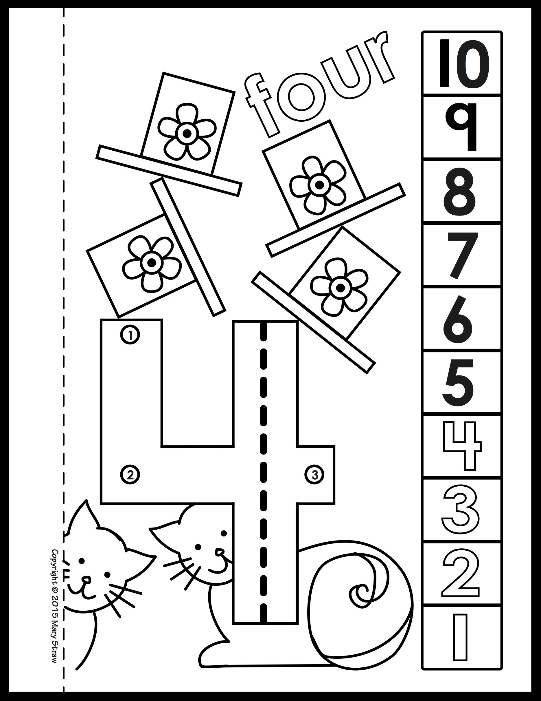 Dot-to-Dot Number Book 1-20 Activity Coloring Pages in ...