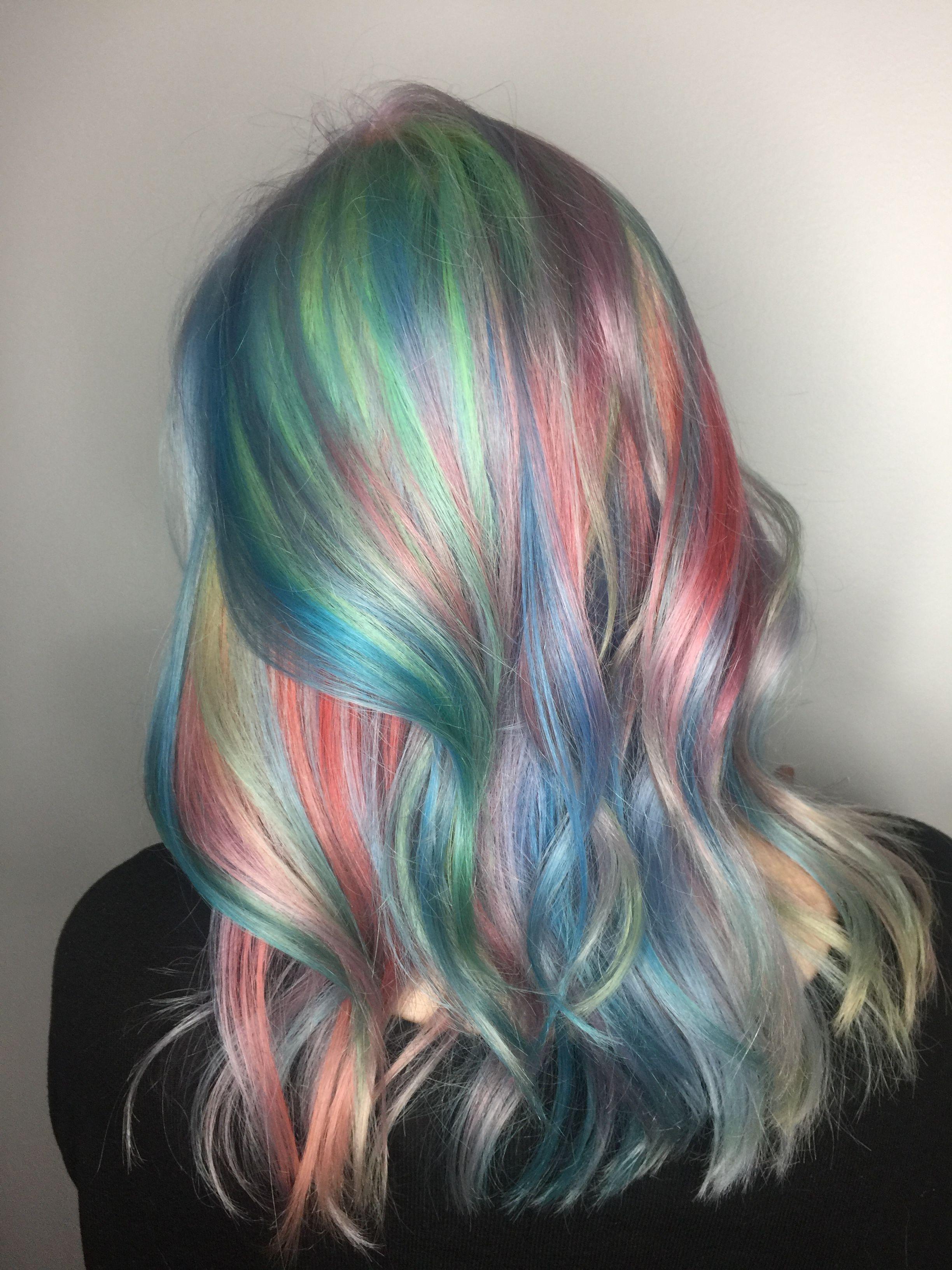 Image gallery mermaid hair - Pastel Hair Mermaid Hair Pastel Balayage Haircolor