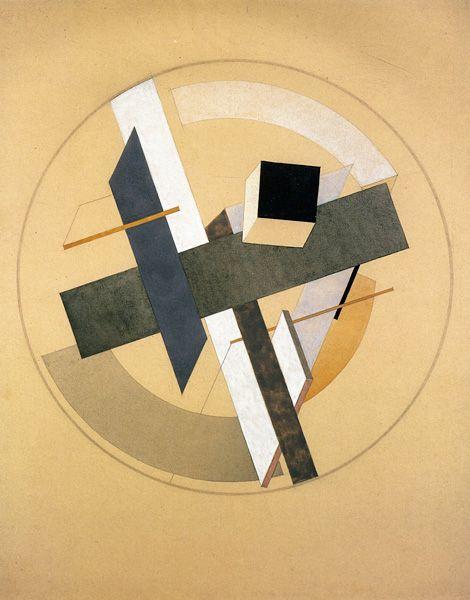 El Lissitzky: PROUN A-2 원 안에 면들이 뭉치면서 덩어리를 만들어 포인트를 줍니다.가운데 덩어리에 입체감을 주며 구성하면 형태가 재밌을 것같아 선정하였습니다.