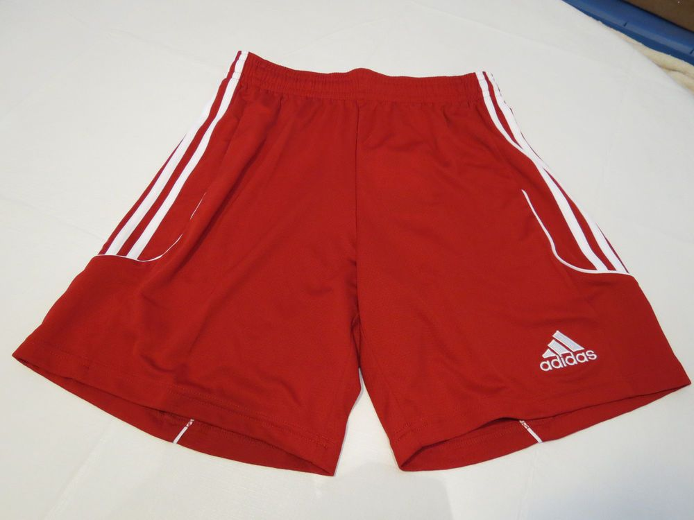 Adidas Climalite Performance shorts Men's active red Squad