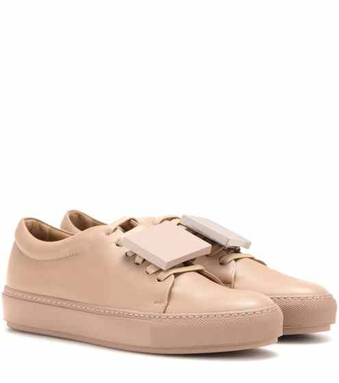 Acne Adriana Leather Trainers Discount Cheap Online Classic Discount Huge Surprise ajiMtowyp