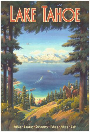 Love this and it hangs upstairs at the Tahoe Vacation Rental Cabin 4 b 2.5 bath luzury home www.southlaketahoevacationrental.org