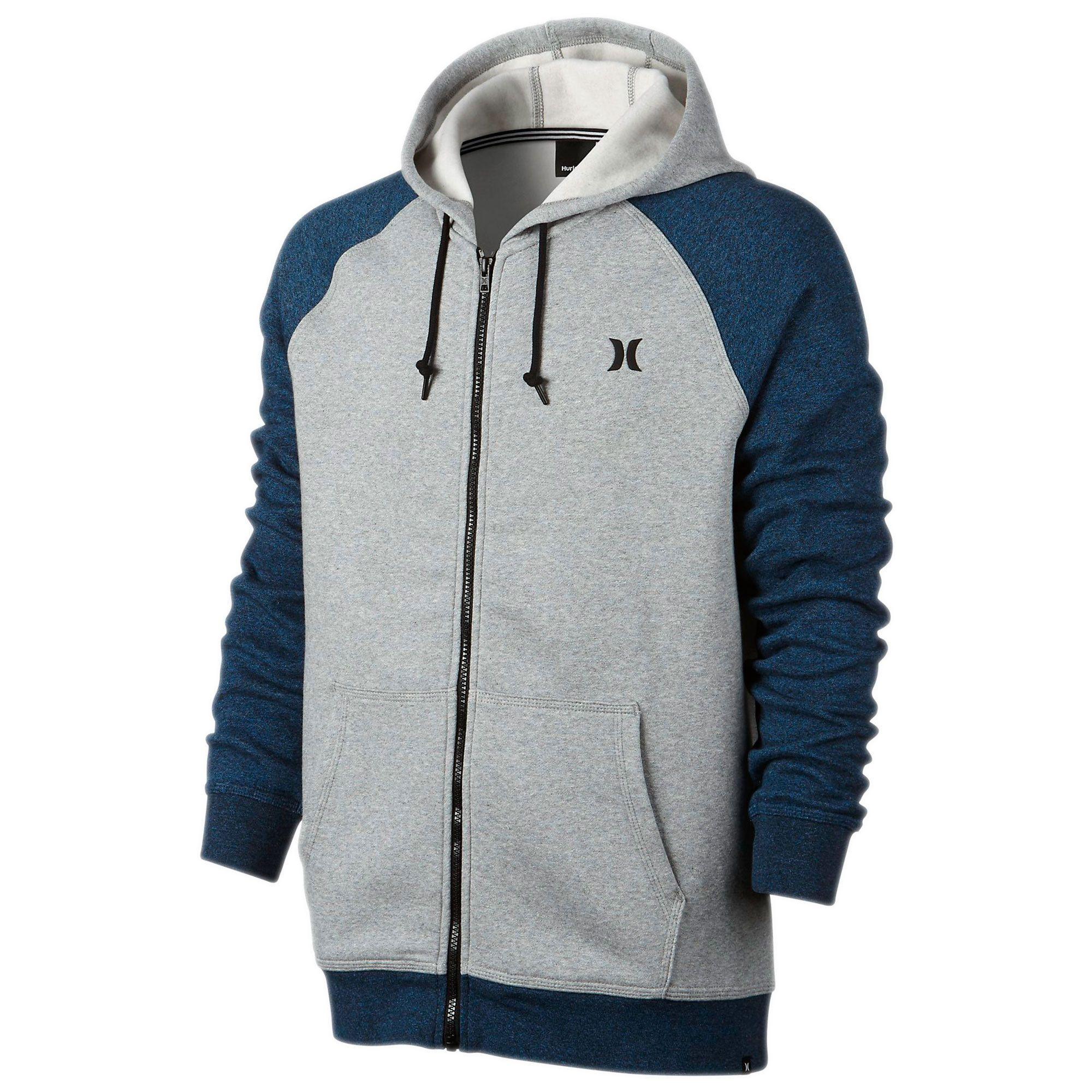 Hurley Men's Getaway Fleece Full-Zip Hoodie, Available at