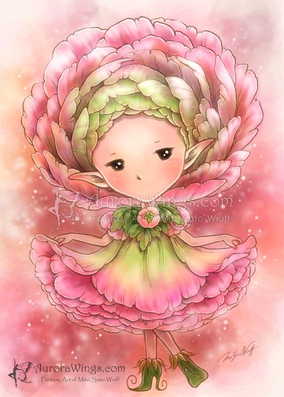 Ranunculus Sprite by aruarian-dancer on DeviantArt