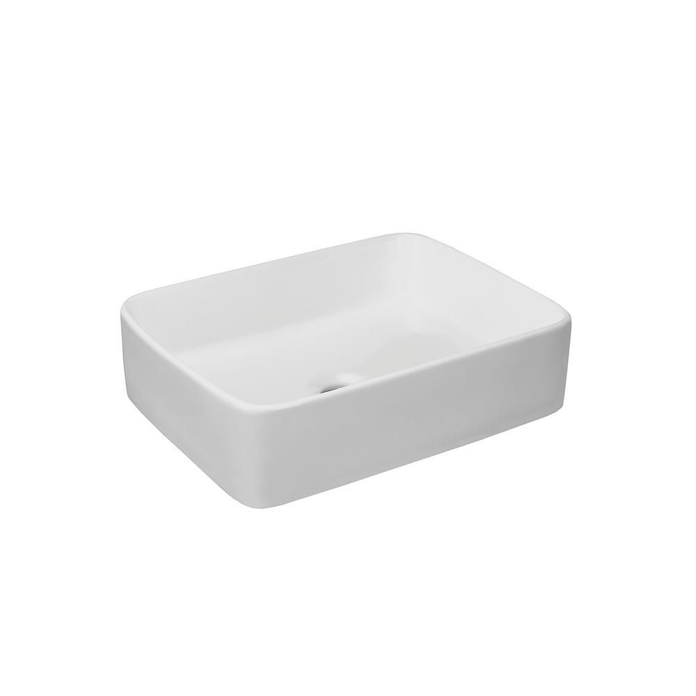 Ronbow Essentials Merit Vessel Sink In White